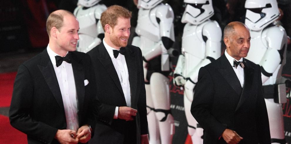 'Star Wars' y su premiere en Londres
