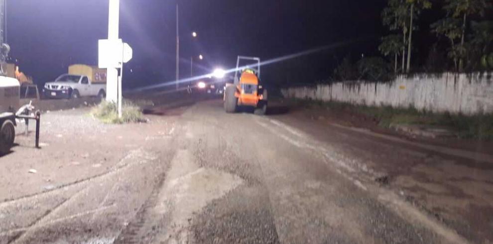 MOP realizará desvío temporal en carretera Pedregal Gonzalillo