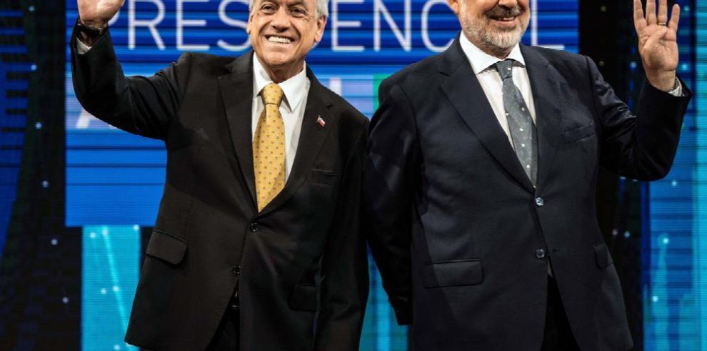 Piñera y Guillier midieron fuerzas en último debate