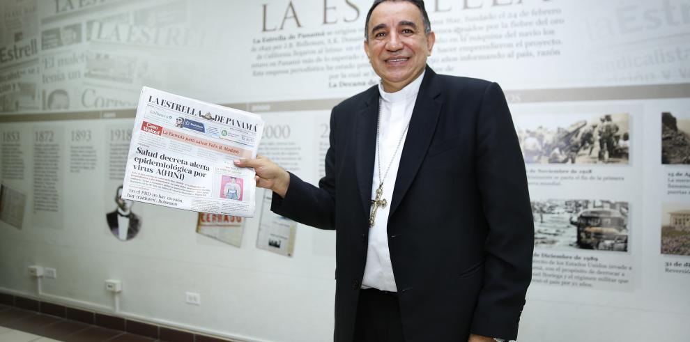Arzobispo de Panamá aboga por solución para diarios GESE