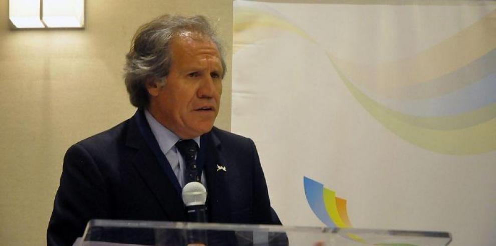 Almagro suspende viaje a Panamá