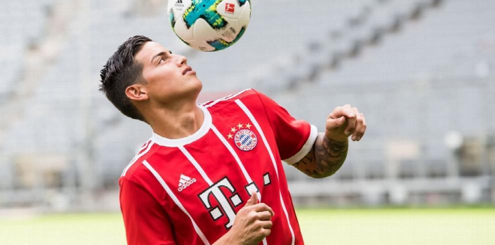Bayern Múnich será un gran reto para James Rodríguez