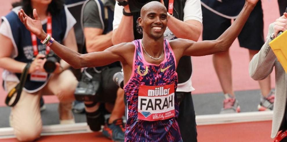 Gran Bretaña con Mo Farah, busca medallas en Londres