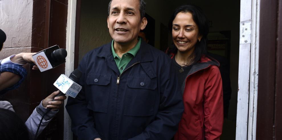 Expresidente peruano Humala y esposa entran a calabozo de Palacio de Justicia