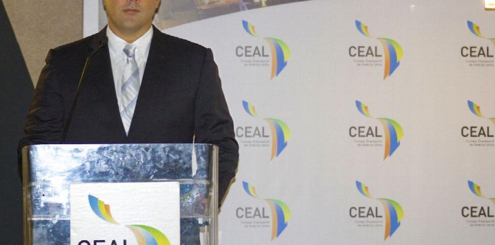Empresario panameño, presidente del CEAL
