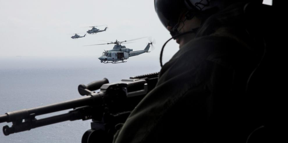 Bombarderos B1 de EEUU participan en maniobras en la península de Corea