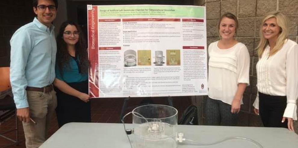 Ingeniera panameña se destaca en la Universidad de Arkansas