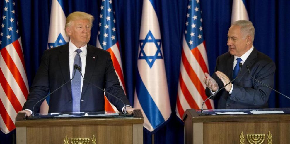 La paz entre Israel y Palestina es garantía de seguridad, Trump