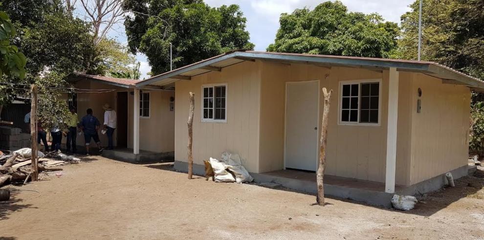 Un 40% de avance el programa Techo de Esperanza en Isla de Cañas