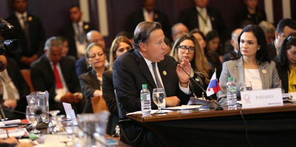 Varela: Seguridad y flujos migratorios son los mayores retos de la región