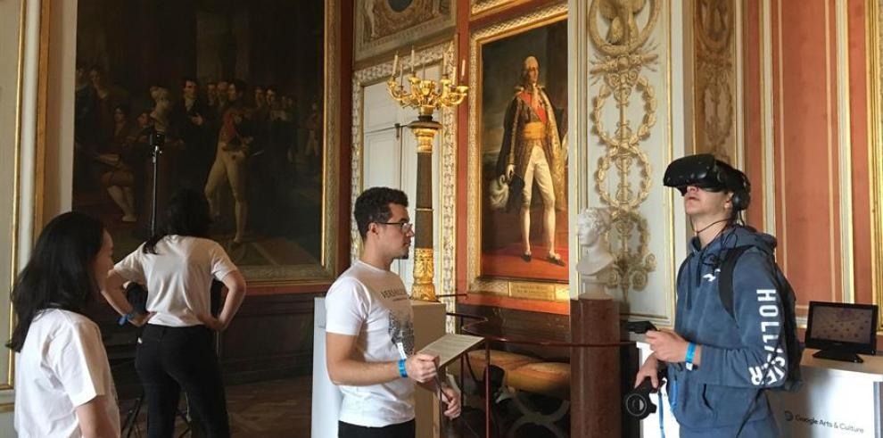 Google, Palacio de Versalles