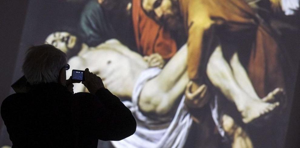 Obras de Caravaggio cobran vida en Roma