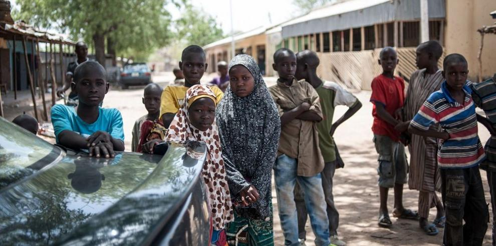 Piden la reconstrucción del colegio de las niñas secuestradas por Boko Haram