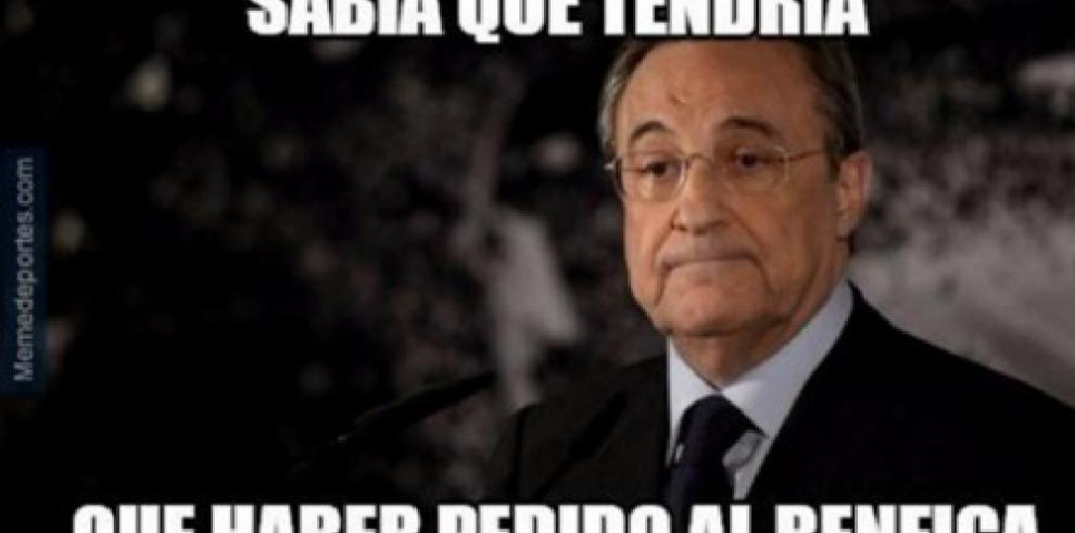 Memes de la derrota del Real Madrid ante elWolfsburgo