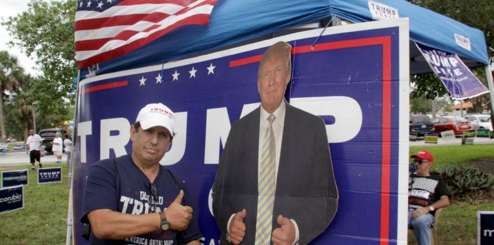 Trump se impone a Clinton en la crucial Florida