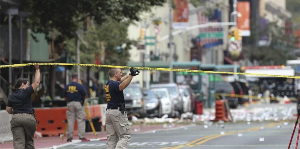 La Policía desconoce si el detenido por explosiones en EEUU actuó solo