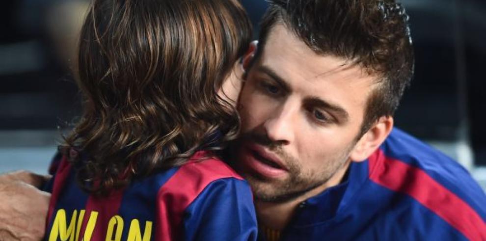 Los hijos de Messi, Suárez y Piqué, primer entreno en escuela del Barça