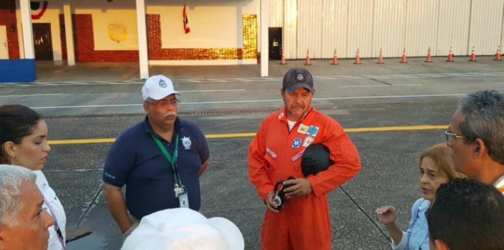 Helicóptero suma cuatro días desaparecido en el Pacífico de Panamá