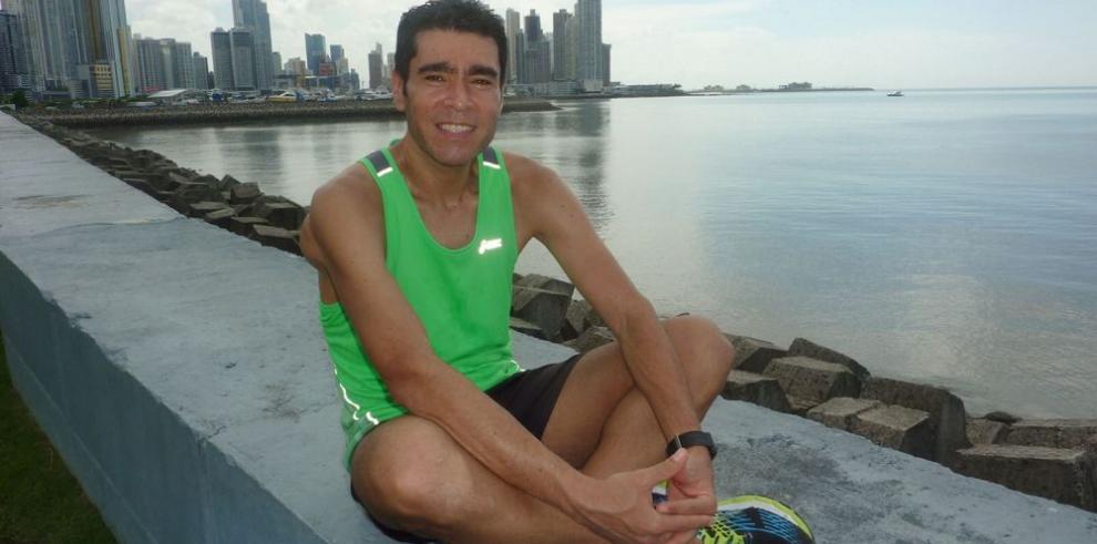 Tomás Galdámez: pasión por el running, sin dar excusa alguna
