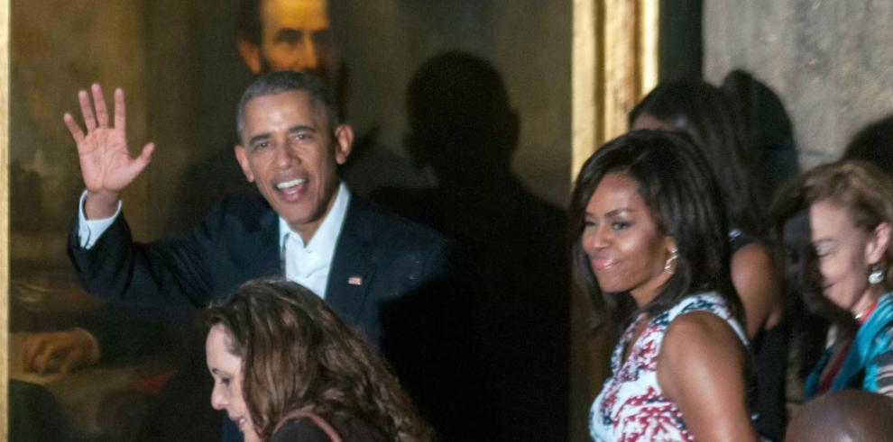 Obama rinde homenaje a José Martí en la Plaza de la Revolución