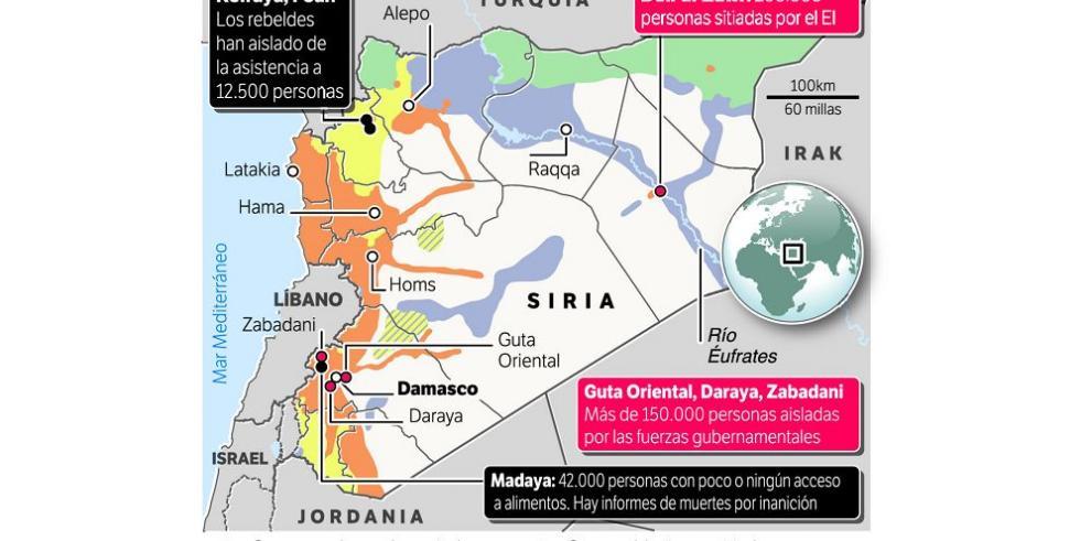 ONU y Cruz Roja piden a Siria traslado de enfermos