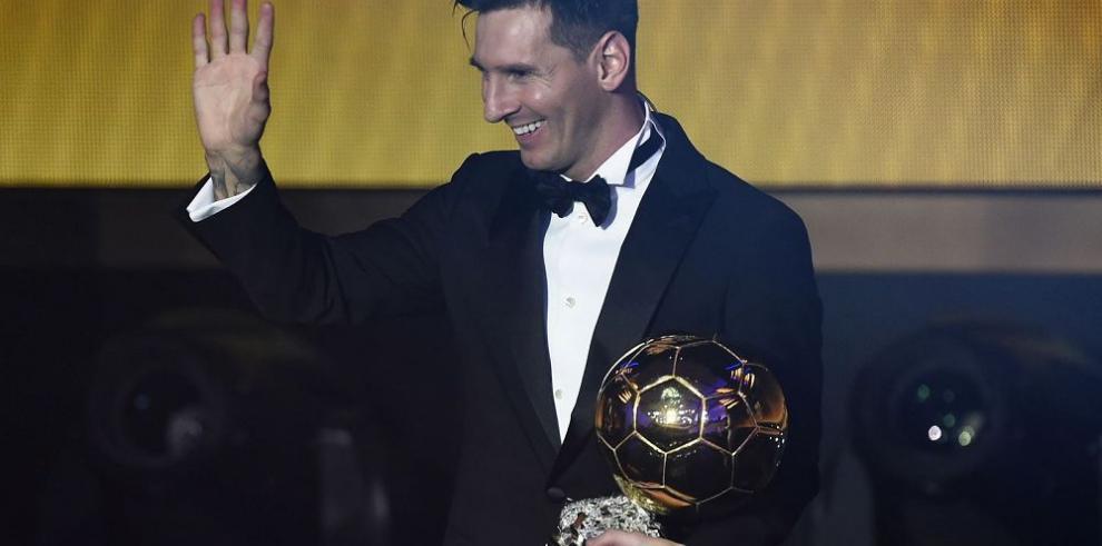 """Adidas celebra quinto """"Balón"""" de """"Lio"""" Messi"""