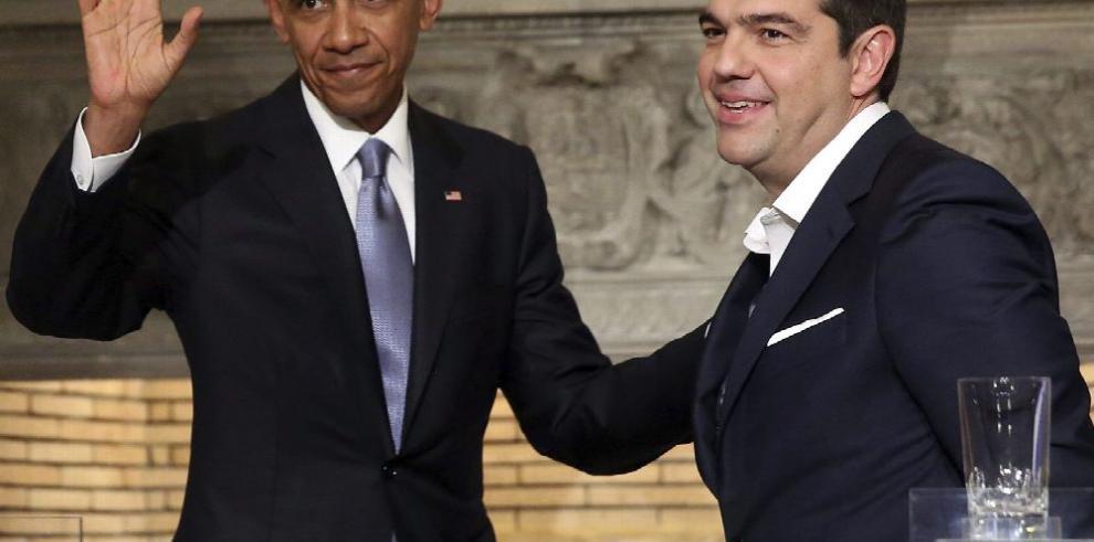 Obama visita Grecia en medio de protestas