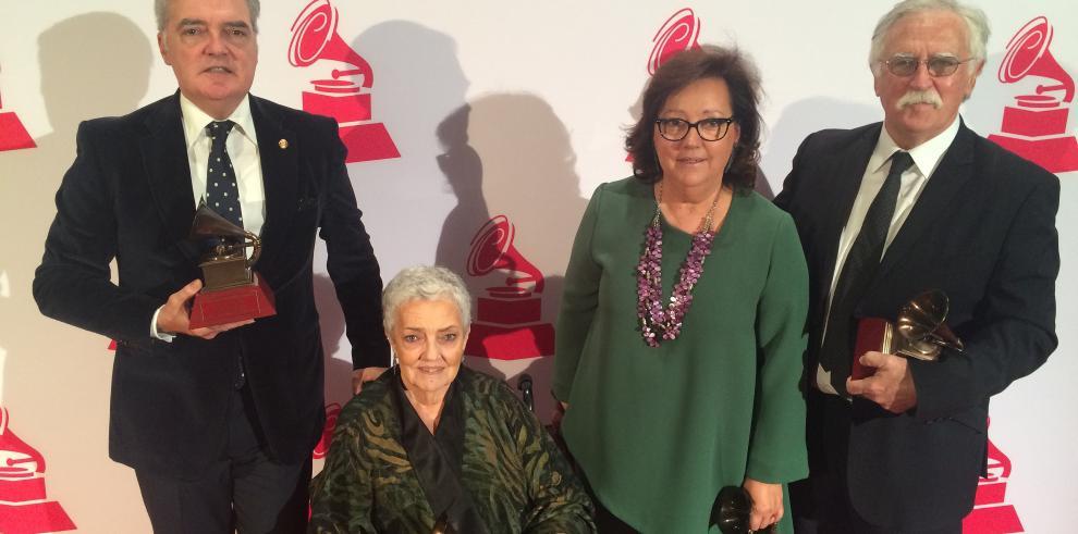 El Consorcio recibe el Grammy Latino