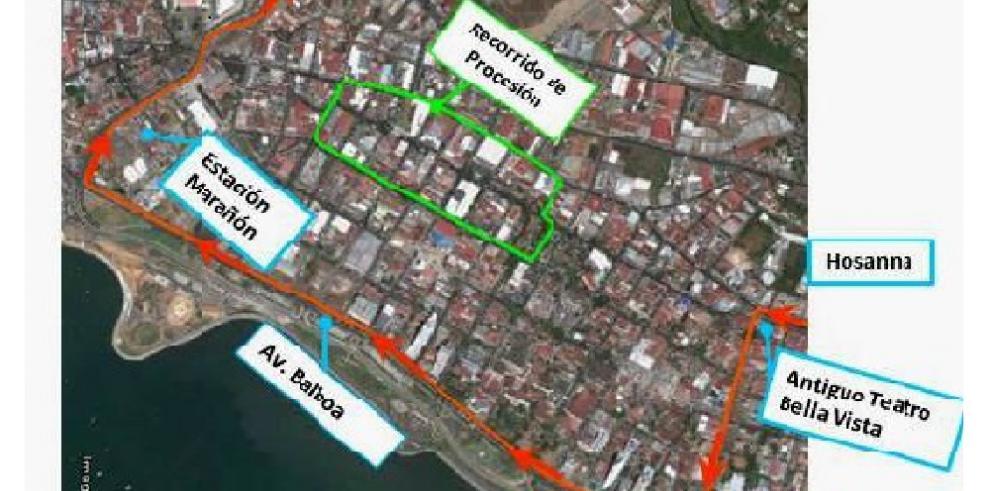 MiBus anuncia desvío de rutas por el sector de Calidonia