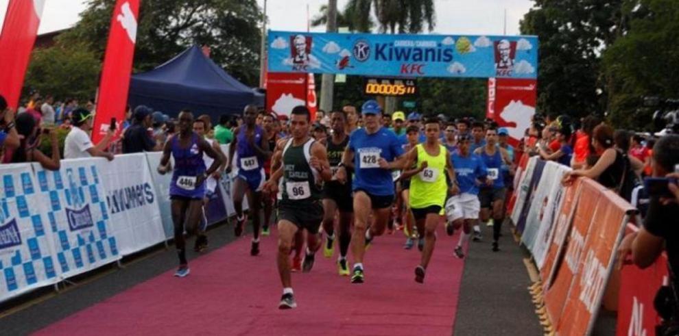 Castelblanco se luce en la carrera Kiwanis