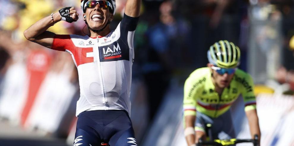 Colombiano Pantano impuso su ritmo