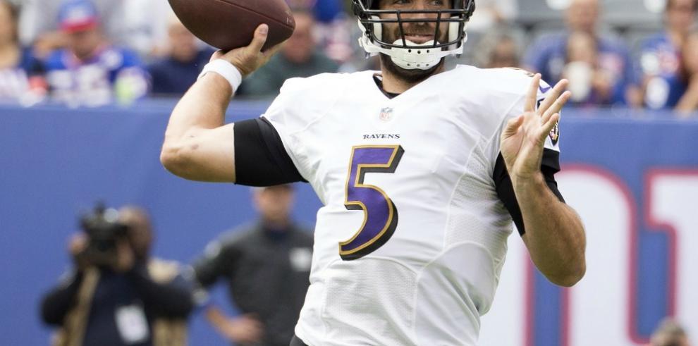Flacco saldrá al emparrillado a enfrentar a los Jets Baltimore