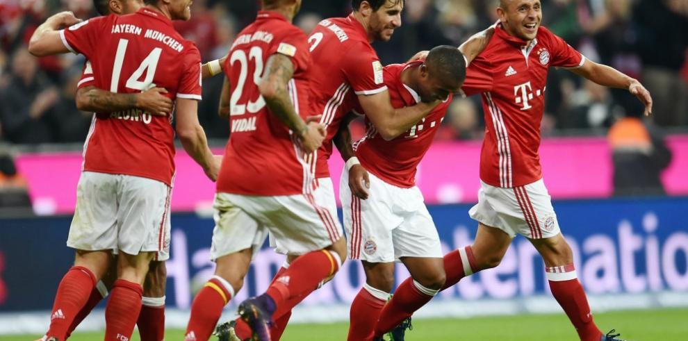 El Bayern consolida su liderato en la Bundesliga