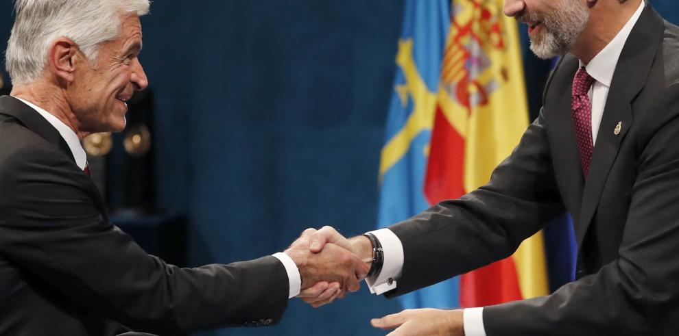 Entregan premios Princesa de Asturias