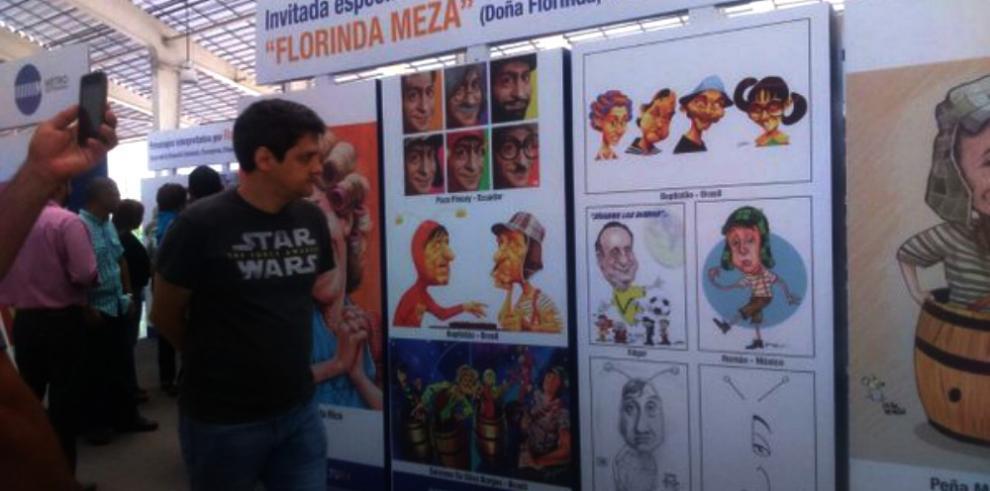 Estación del Metro de Panamá se une al homenaje a Chespirito
