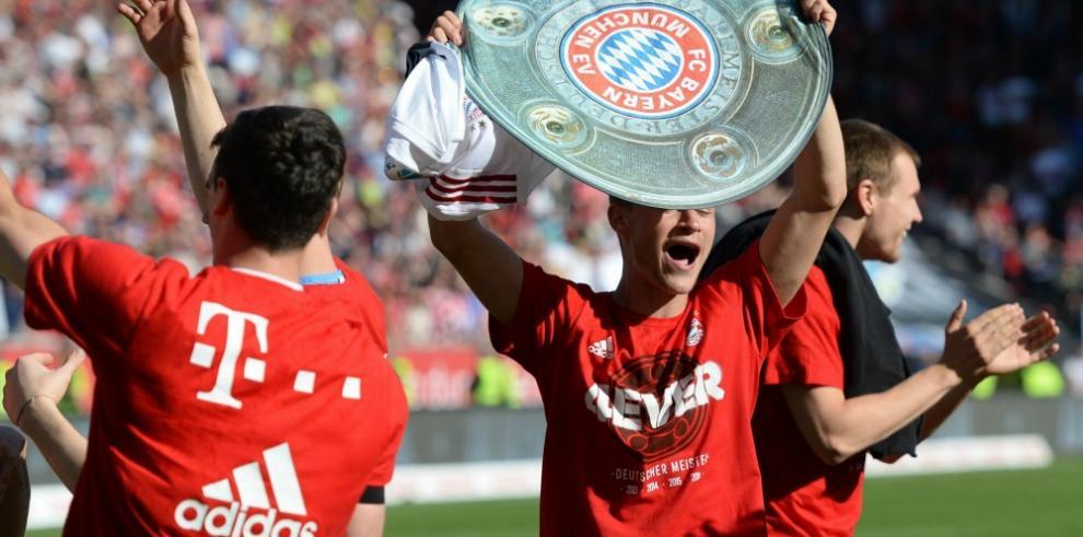 El Bayern se corona campeón alemán con victoria ante el Ingolstadt