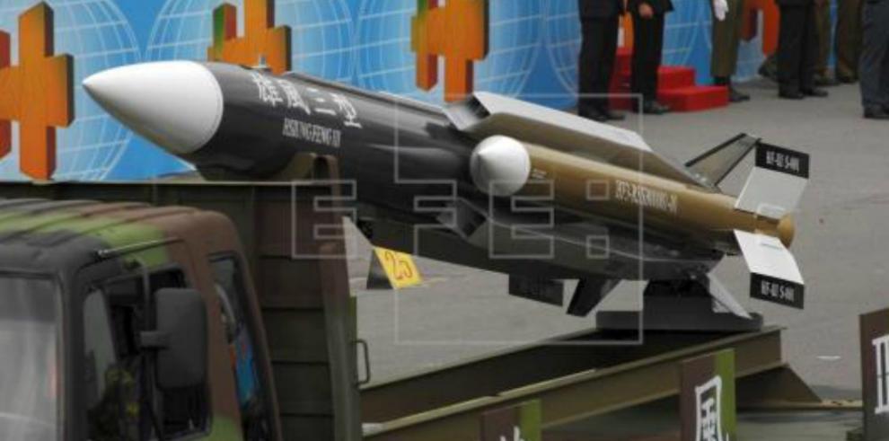 Lanzamiento de misil taiwanés a China no fue intencionado