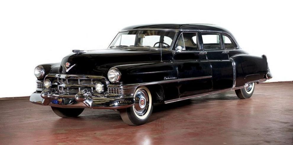 A subasta el Cadillac de Eva Perón