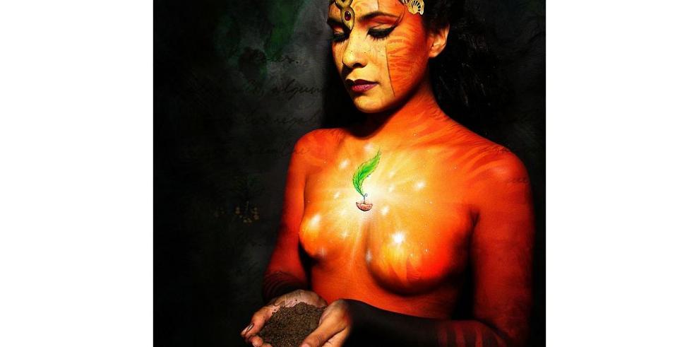 Obras de arte sobre piel desnuda