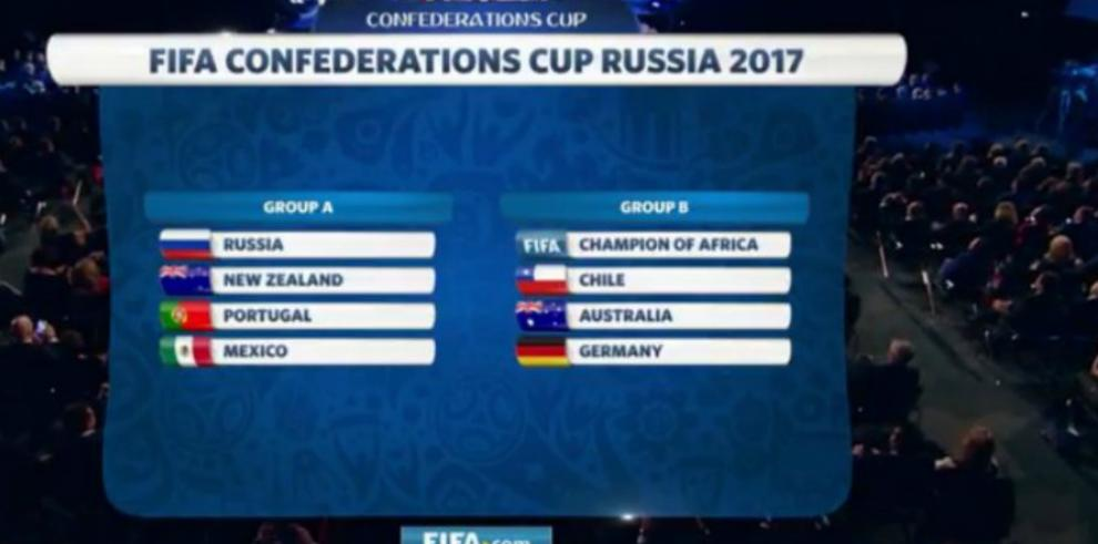 Chile jugará contra Alemania y México contra la Portugal