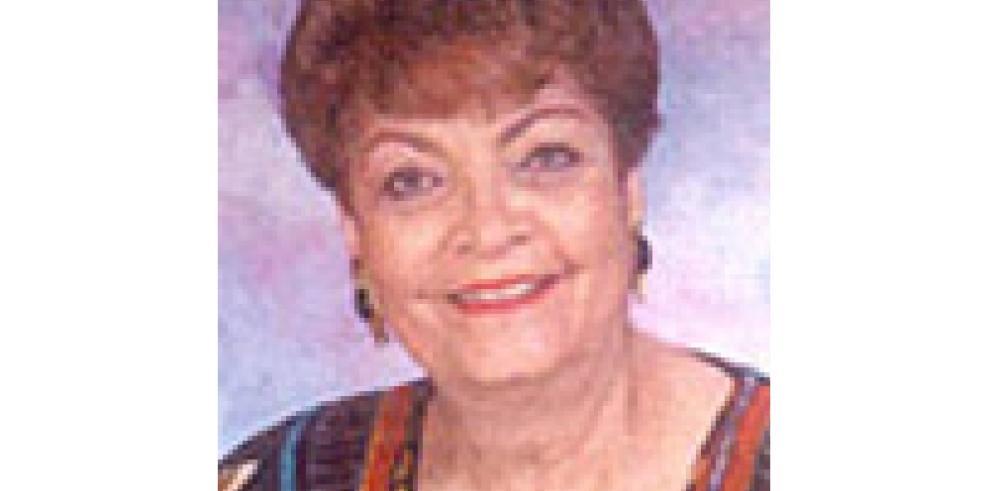 Muere Marisín Villalaz de Arias a los 86 años