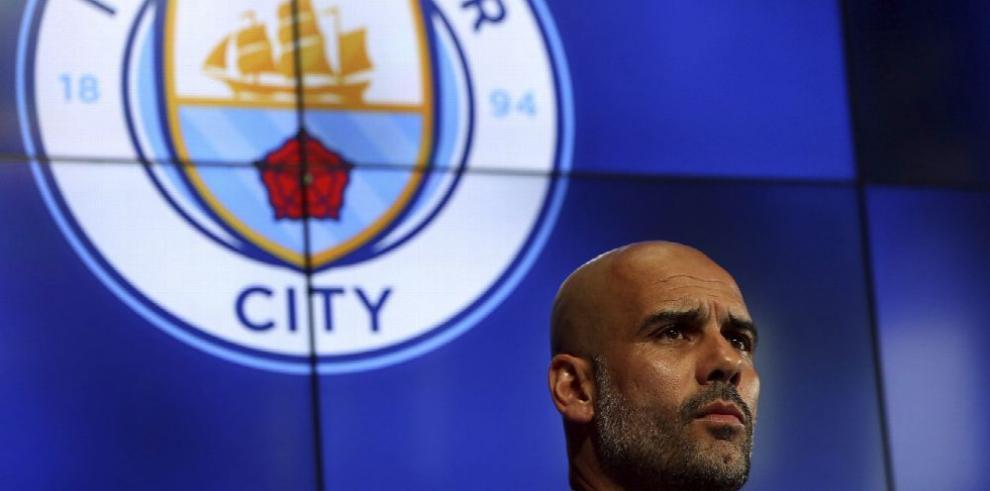 'Entrenar en Inglaterra es una ambición personal', Guardiola