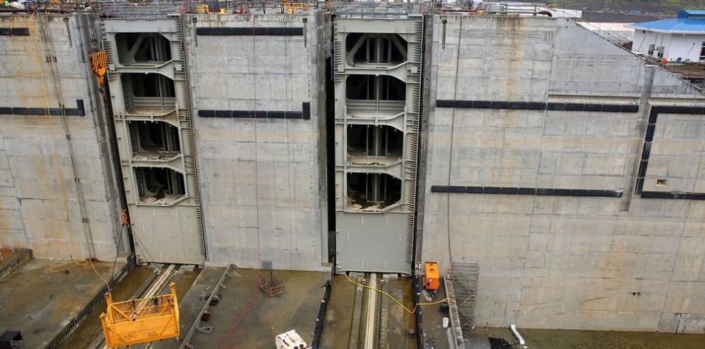 La ampliación del Canal de Panamá, a 4% de su conclusión