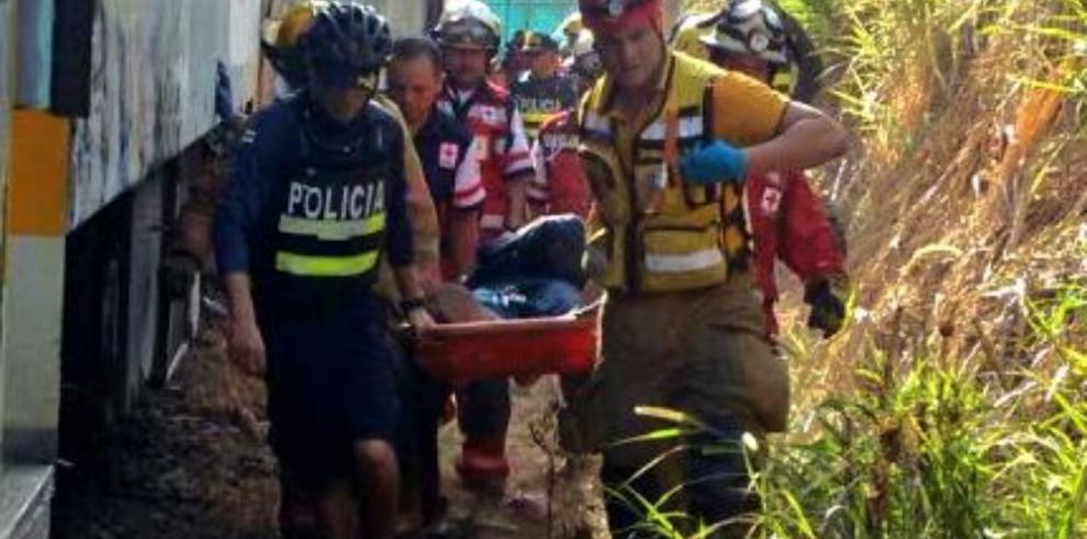 Al menos 50 heridos en un choque de trenes en Costa Rica