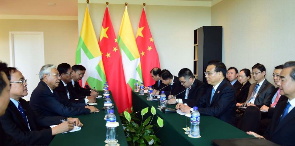 China dispuesta a potenciar economía de Myanmar