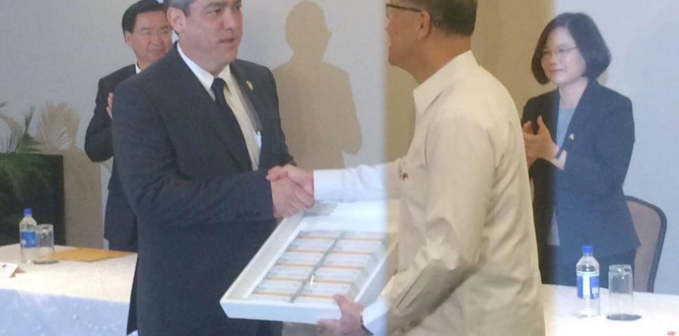 República de Taiwán donó medicamentos contra la influenza