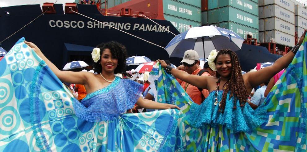 Cosco Shipping Panamá, protagoniza nuevo capítulo en la historia