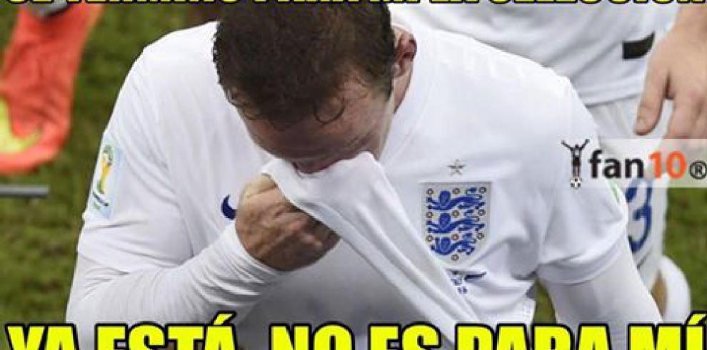 Eliminación de Inglaterra de la Euro inspira a cibernautas con memes