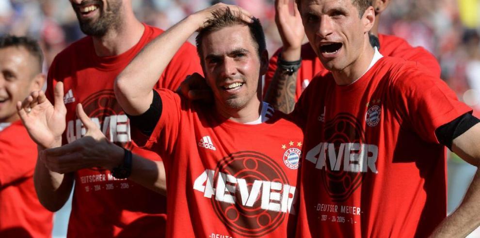 Bayern cura sus heridas con el titulo de la Bundesliga