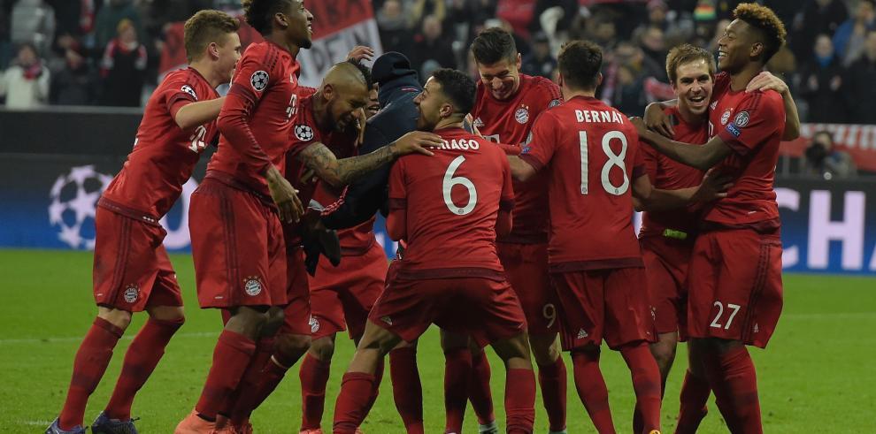 Bayern clasificó tras remontada en la prórroga